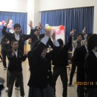 パプリカを踊りました